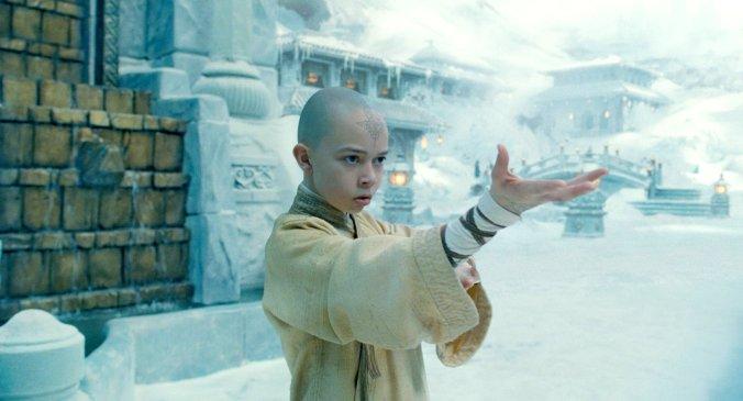 The_Last_Airbender_Movie Aang Learning Water