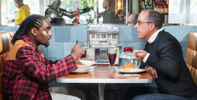 Wale and Seinfeld having Breakfast TAAN