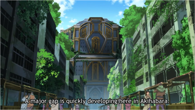 A Major Gap is quickly developing in Akihabara