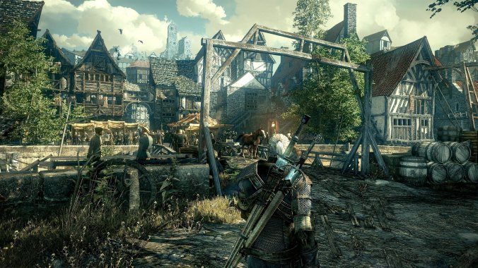 Witcher 3 Screenshot PS4
