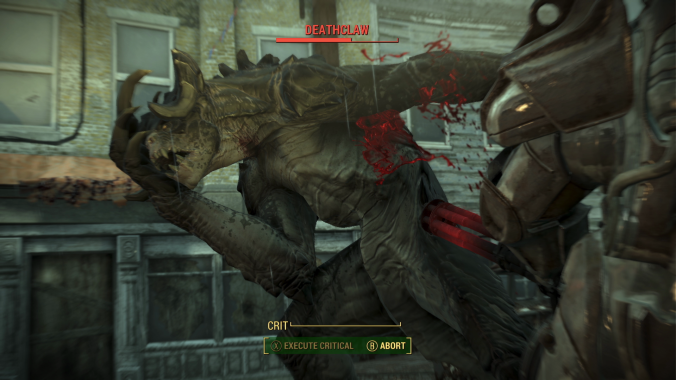 Fallout 4 Deathclaw Screenshot