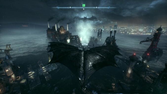 Batman-Arkham-Knight- Gotham City