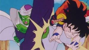 Piccolo Kicking Gohan