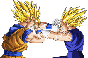 Goku Vegeta Rivalry