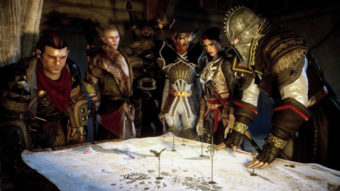 Dragon Age Inquisition Round table