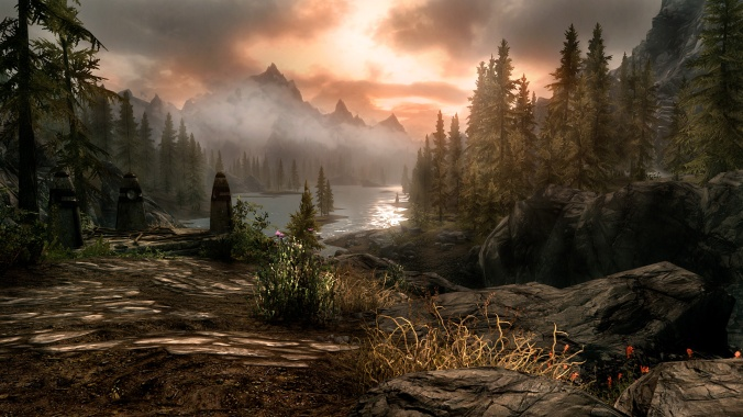 Skyrim Scenery is beautiful