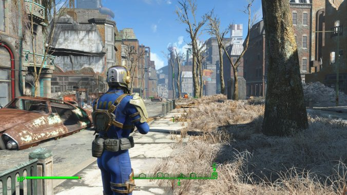 Walking into FalloutTown