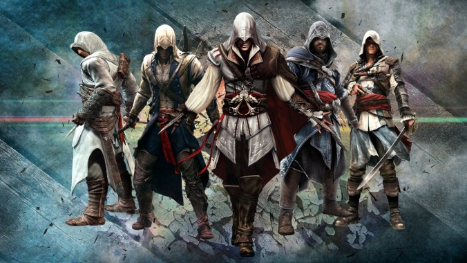 Assassin Creed Collection Mock-up