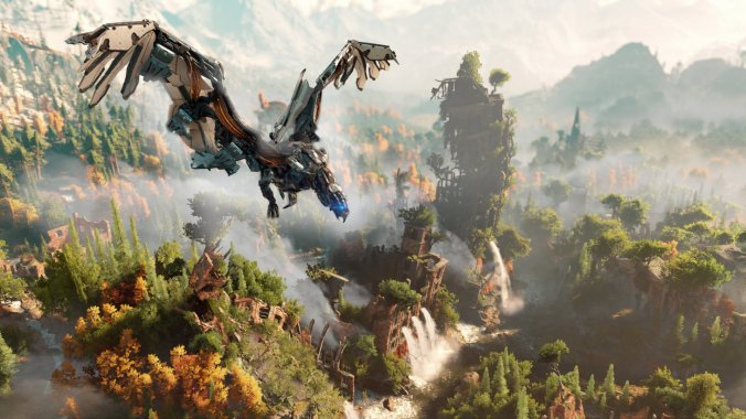 Horizon Zero Down Flying Dinosaur