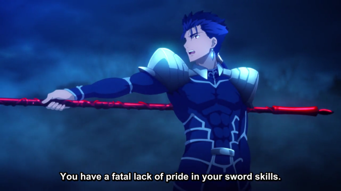 Fatal lack of pride in your sword skills