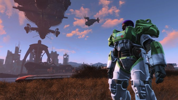 Buzz Light year mod on Fallout 4